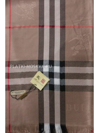 Палантин Burberry светло-коричневый 425