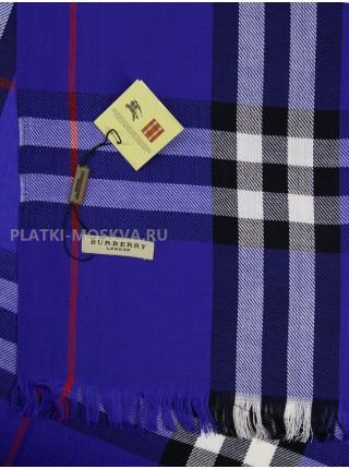 Палантин Burberry синий 422