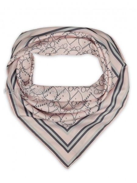 """Платок Dior шелковый розовый """"Полоска"""" 1871-90"""
