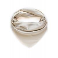 Платок Dior молочный с серебром 2209
