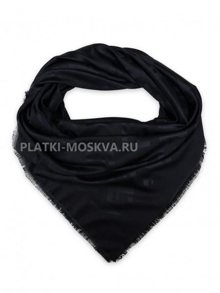 Платок Fendi черный 517