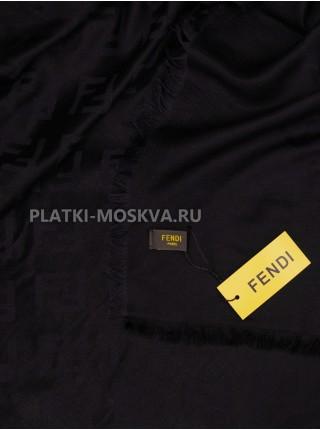 Платок Fendi шерстяной черный 517-1