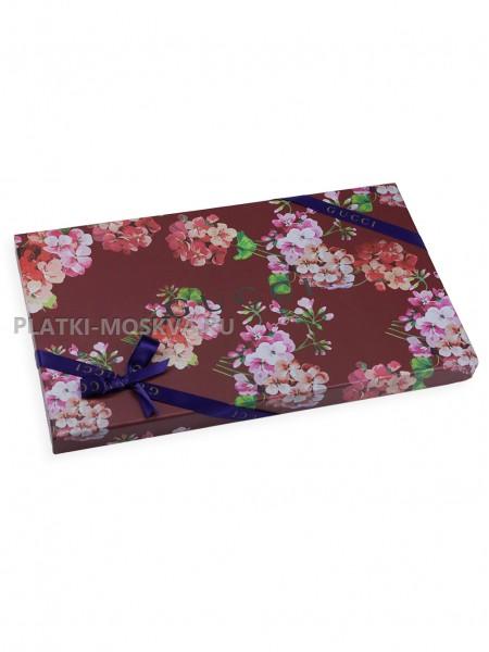 Подарочная коробка Gucci цветы