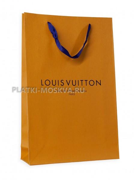 Фирменный пакет LV темно-желтый
