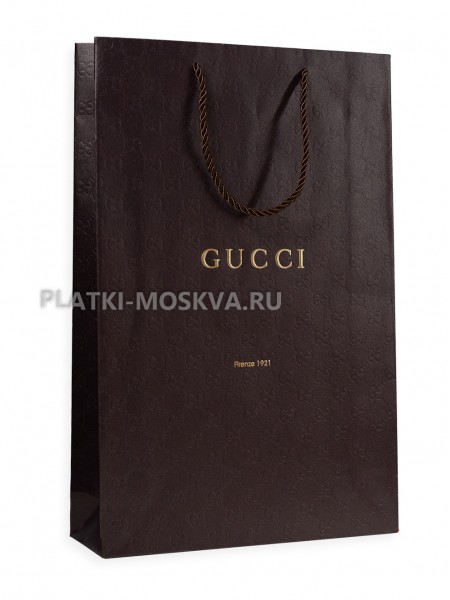 Фирменный пакет Gucci