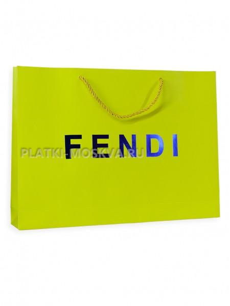 Фирменный пакет Fendi прямоугольный